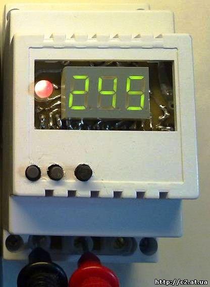 Вольтметр на 220 вольт с защитой на ATmega8.  Не сектер что качество и стабильность поставляемай элекро-энергии...