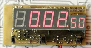 такое получилось устройство часы-секундомер.  Вот , как итог проделаной работы , благодаря.  Схема. akl.